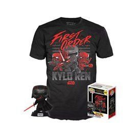 Funko Pop! & Tee - Kylo Ren - Star Wars - Exclusive 10cm