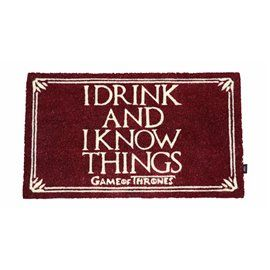 Alfombra Felpudo I Drink And I Know Things - Juego de Tronos 40x60cm