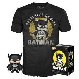 Funko Pop! & Tee - Batman - DC - Exclusive 10cm