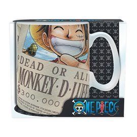Taza Gigante One Piece Wanted