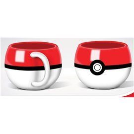 Taza 3D Pokeball - Pokemon