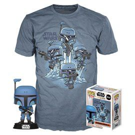 Funko Pop! & Tee - The Mandalorian - Star Wars - Exclusive 10cm