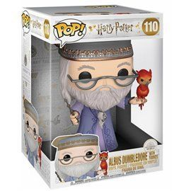 Funko Pop! - Dumbledore with Fawkes - Harry Potter Super Sized 10""