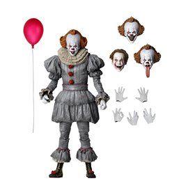 Figura Ultimate Pennywise It 2 Neca Escala 1/10 20 cm