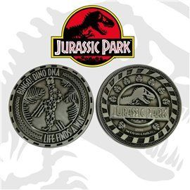 Moneda Limitada 25th Anniversary DNA - Jurassic Park