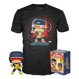 Funko Pop! & Tee - Cíclope - X-men - Exclusive 10cm
