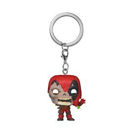 Funko Pop! Llavero Zombie Deadpool - Marvel