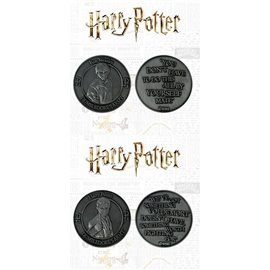 Pack 2 Monedas Harry & Ron - Edición Limitada Harry Potter
