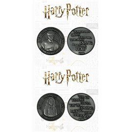 Pack 2 Monedas Neville & Luna - Edición Limitada Harry Potter