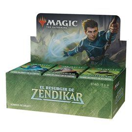 Magic: El Resurgir de Zendikar - Sobre 15 Cartas Castellano