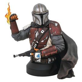 Busto The Mandalorian - Star Wars Gentle Giant 1/6
