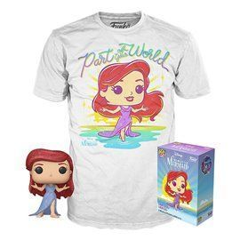 Funko Pop! & Tee - La Sirenita - Disney - Exclusive 10cm