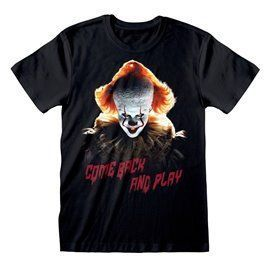 Camiseta Come Back and Play - IT Chapter 2