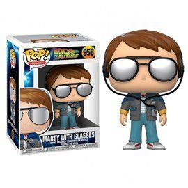 Funko Pop! - Marty with Glasses - Regreso al Futuro