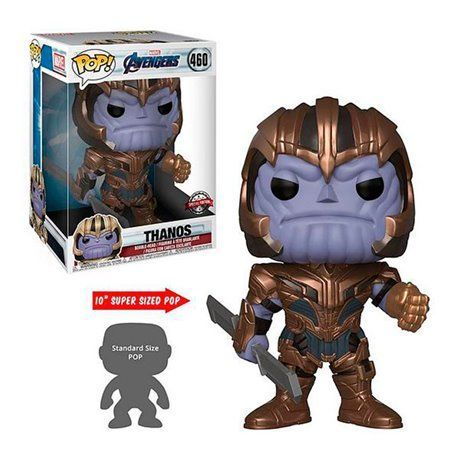 Funko Pop! Thanos Super Sized 10' - Figura 25cm - Endgame