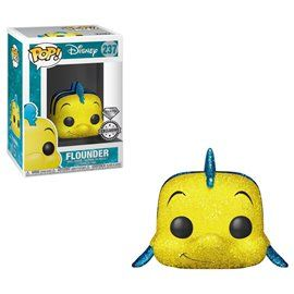 Funko Pop! - Flounder - Diamond Special Edition - Disney Figura 10cm