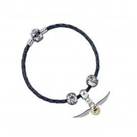 Pulsera Charms Cuero Quidditch Set - Harry Potter