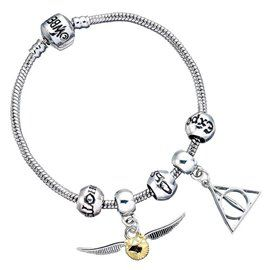 Pulsera Charms Plateada - Harry Potter