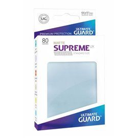 Fundas Ultimate Guard Supreme UX Tamaño Estándar Mate Transparente