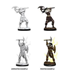 Goliath Female Barbarian - Miniatura Dungeons and Dragons