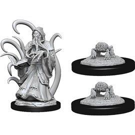 Alhoon and Intellect Devourers - Miniatura Dungeons and Dragons