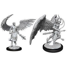 Deva and Erinyes - Miniatura Dungeons and Dragons