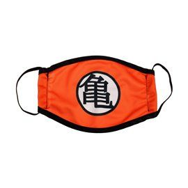 Mascarilla Infantil Dragon Ball