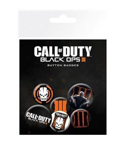 Set de Chapas Call Of Duty BO3