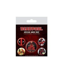 Set de Chapas Deadpool