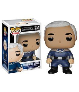 Funko Pop! - Comandante Adama Fig 10 cm