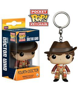 Funko Pop! - Llavero 4th Doctor 4cm