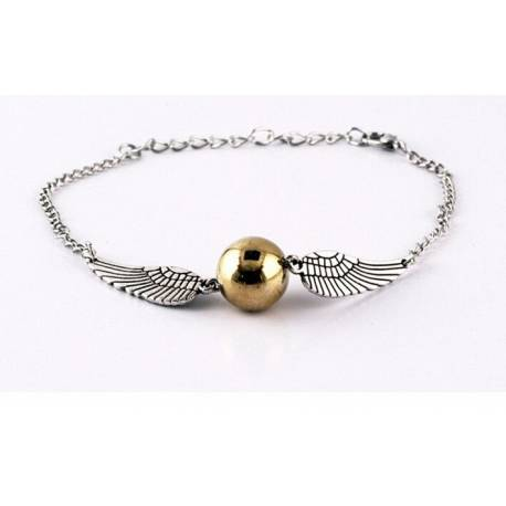 Pulsera Snitch. Harry Potter