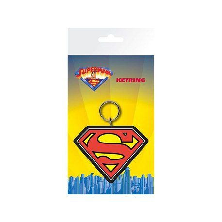 Llavero Superman Logo DC