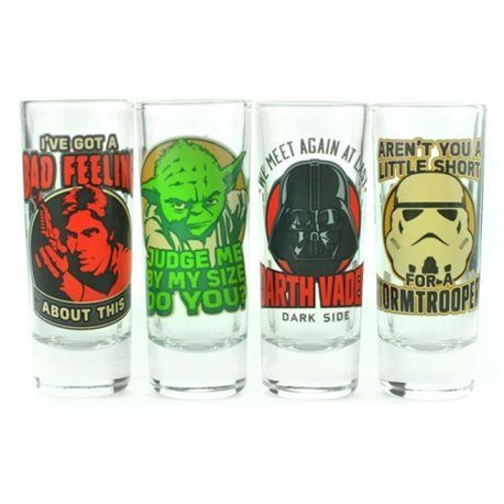 Set Vasos Chupito Star Wars