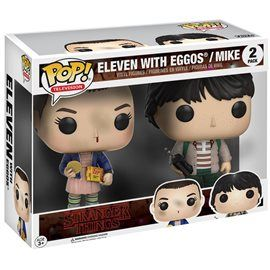 Funko Pop! - Pack Eleven with Eggos + Mike Figura 10cm
