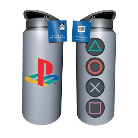 Cantimplora Aluminio Playstation