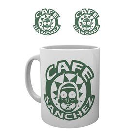 Taza Cafe Sanchez Rick & Morty