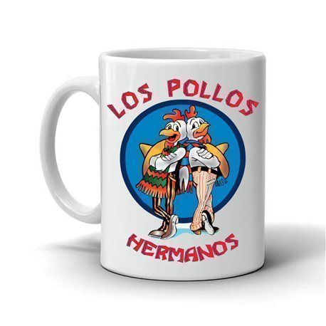 Taza Los Pollos Hermanos Breaking Bad
