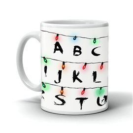 Taza Stranger Things Luces