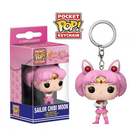 Funko Pop! - Llavero Sailor Chibi Moon