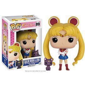Funko Pop! - Sailor Moon & Luna Figura 10cm