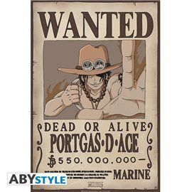 Poster One Piece - Wanted Ace