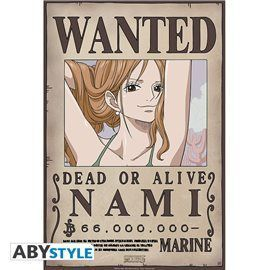 Poster One Piece - Wanted Nami