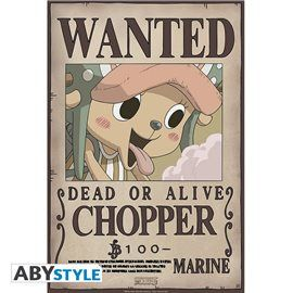 Poster One Piece - Wanted Chopper