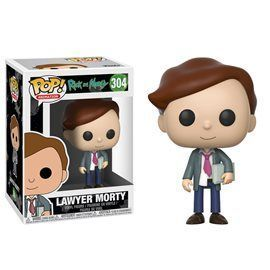 Funko Pop! - Lawyer Morty Figura 10 cm