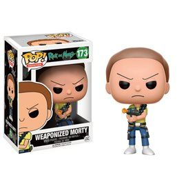 Funko Pop! - Weaponized Morty Figura 10 cm