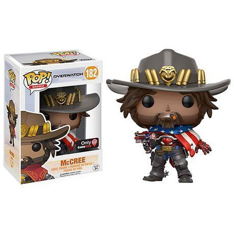 Funko Pop! McCree USA Overwatch Figura 10cm