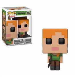 Funko Pop! Alex - Minecraft Figura 10cm