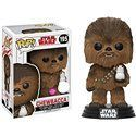 Funko Pop! - Chewbacca & Porg Flocked Figura 10cm
