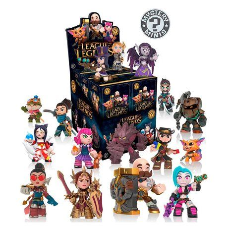 Funko - League of Legends Mystery Box Figura 10cm